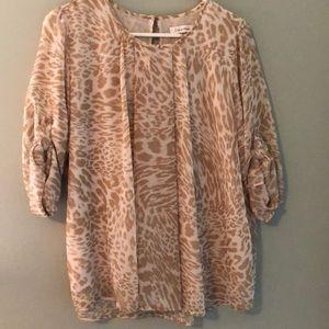 CK animal print dress shirt